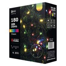 180 LED reťaz, 18m, multicolor, programy
