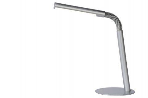 GILLY stolová lampa LED 3W H49 D14cm strieborná